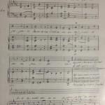 Responsorio del Beato Antonio - foglio 1