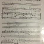 Responsorio del Beato Antonio - foglio 2
